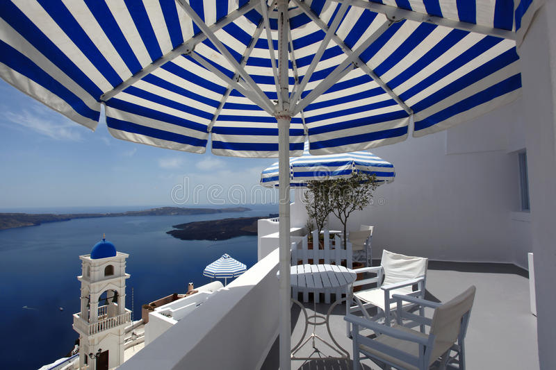 Download Santorini Church In Fira With Sea-view,Greece Stock Image - Image: 24749145