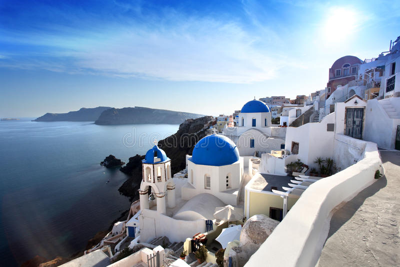 Download Santorini Churches In Oia, Greece Royalty Free Stock Image - Image: 24884076