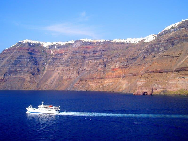 Download Santorini Coast Stock Image - Image: 6387211