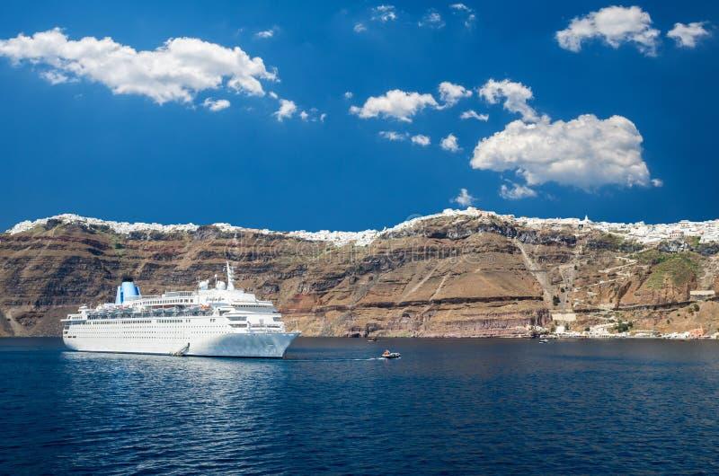 Santorini, Cyclades Islands, Greece. royalty free stock photo
