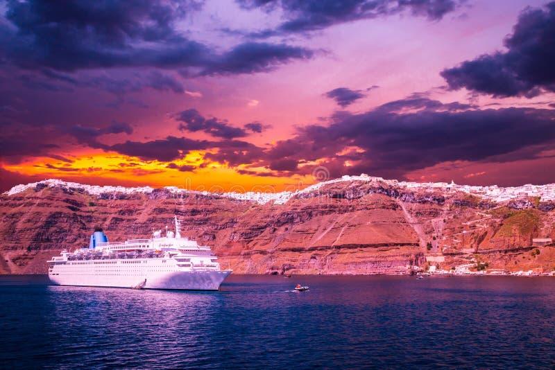 Santorini, Cyclades Islands, Greece. royalty free stock photography
