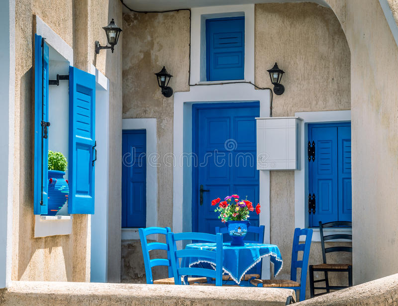 Santorini, Cyclades Islands, Greece. royalty free stock image