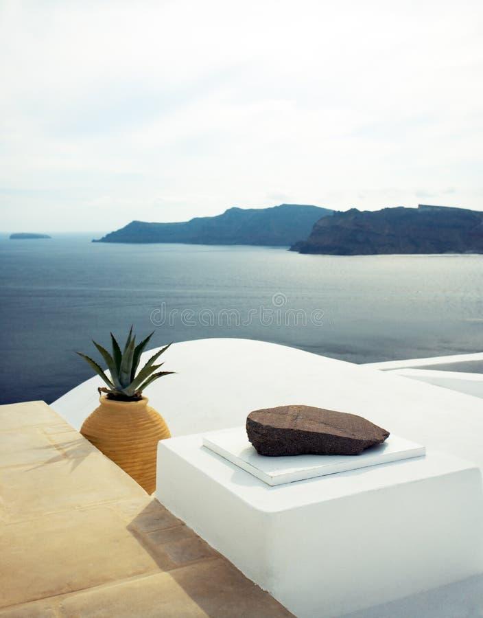 santorini de la Grèce photos stock