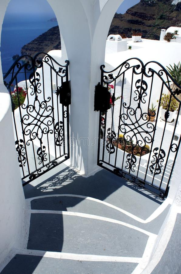 Download Santorini in details stock photo. Image of detail, romantic - 28923840