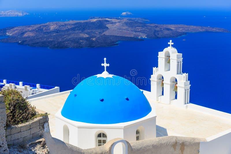 Santorini, Grèce images stock