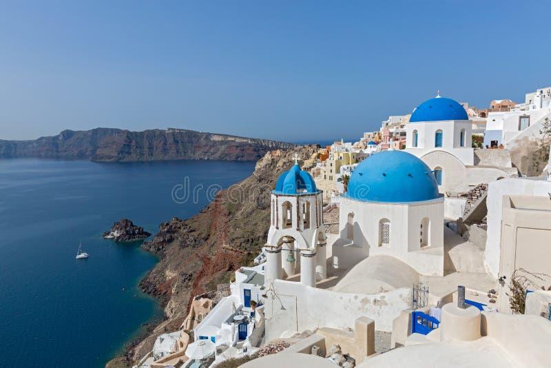Santorini Grecee royaltyfri bild