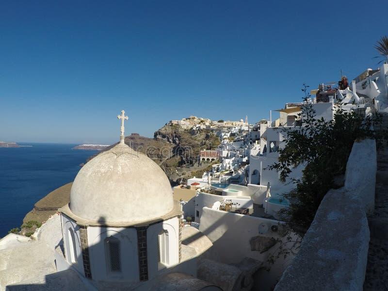 Santorini Grecia imágenes de archivo libres de regalías