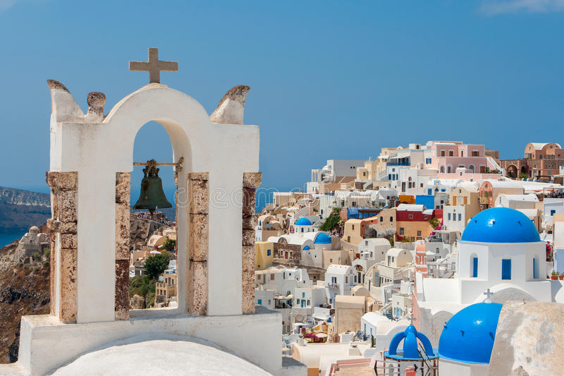 Santorini. Grecia imágenes de archivo libres de regalías