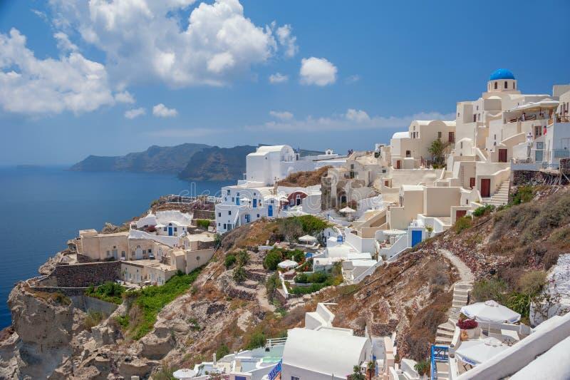 Santorini, Grecia imagen de archivo