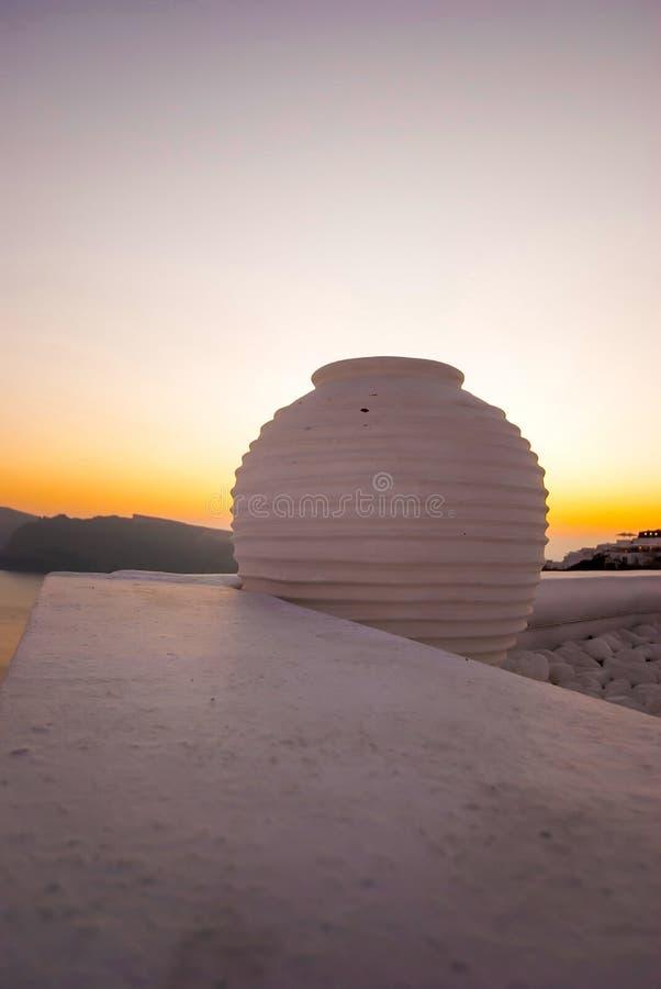 Santorini Grecia fotografia stock libera da diritti
