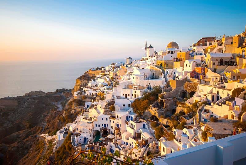 Santorini Grecia fotografia stock