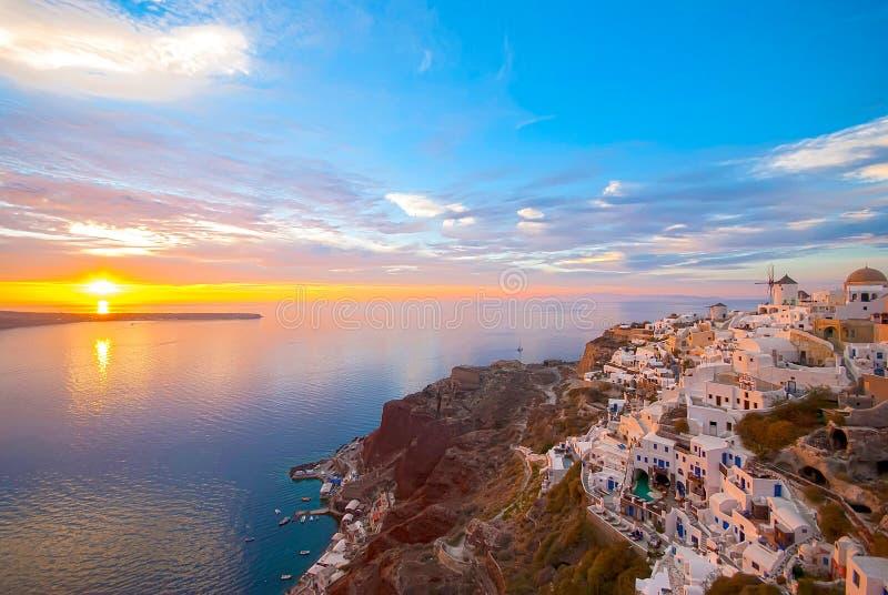 Santorini Grecia immagini stock libere da diritti