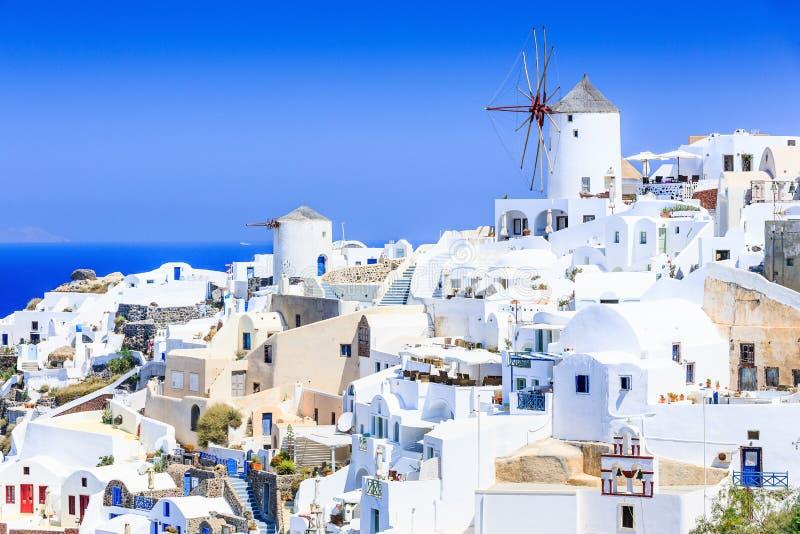 Santorini, Grecia fotografia stock libera da diritti