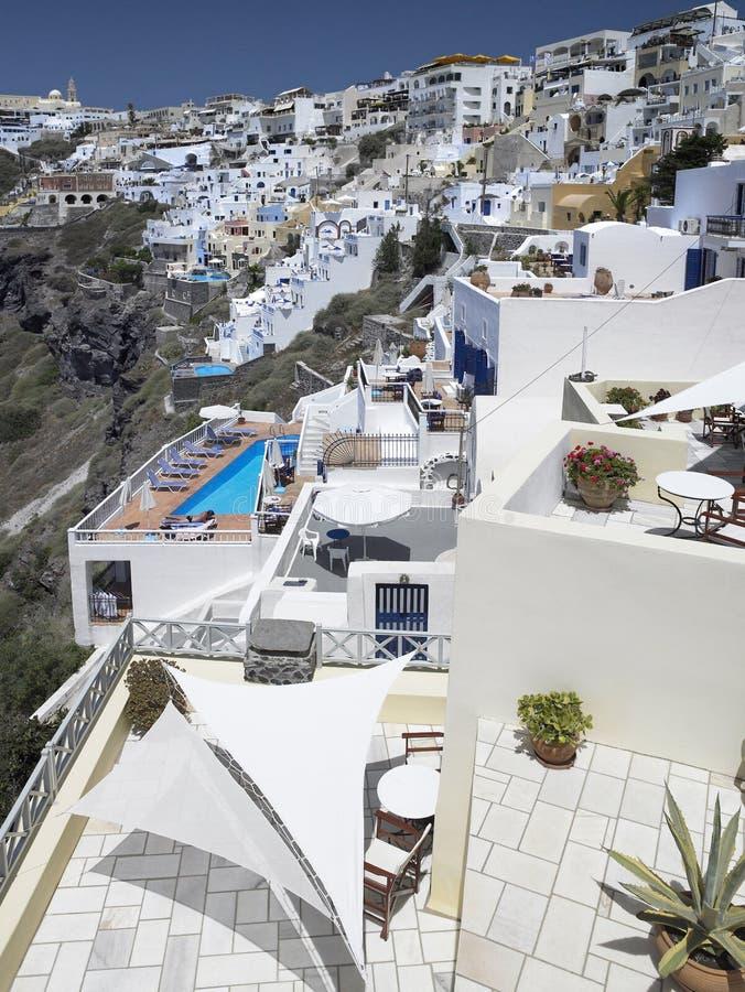 Download Santorini - Greece stock photo. Image of picturesque - 15574050