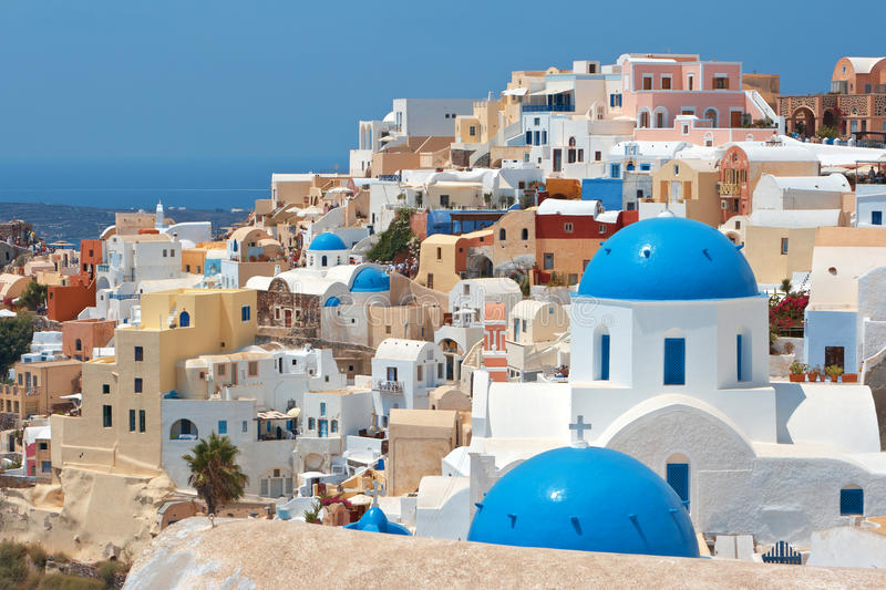 Santorini. Greece imagem de stock royalty free