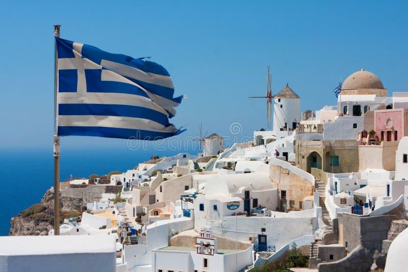 Santorini, Greece foto de stock