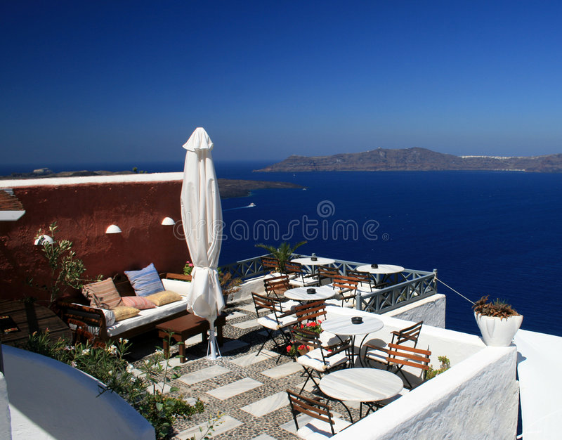 Santorini - Greece royalty free stock images