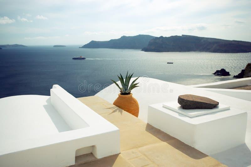 Santorini, greece foto de stock royalty free
