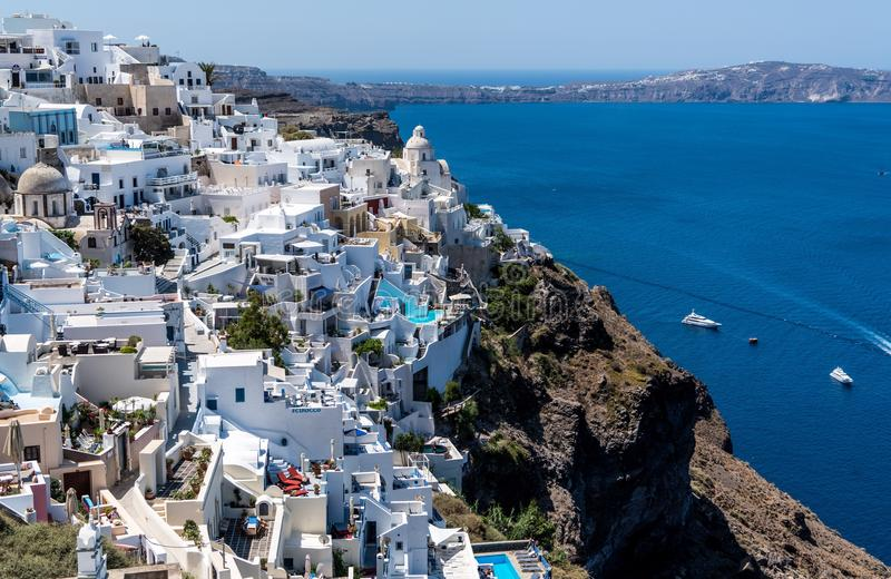 Santorini, Greece royalty free stock photo