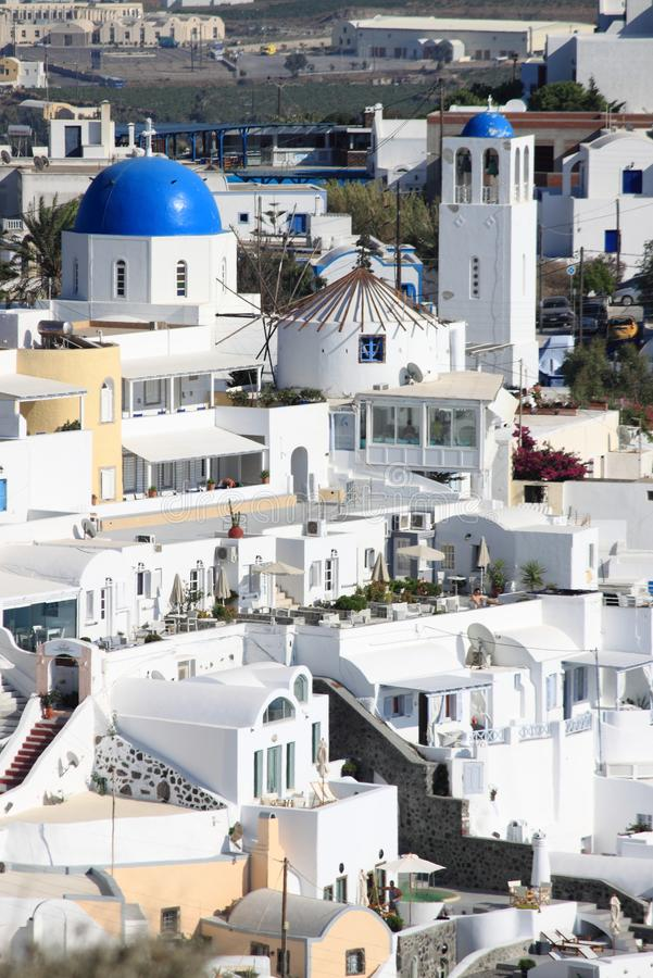 Santorini, Greece imagem de stock royalty free