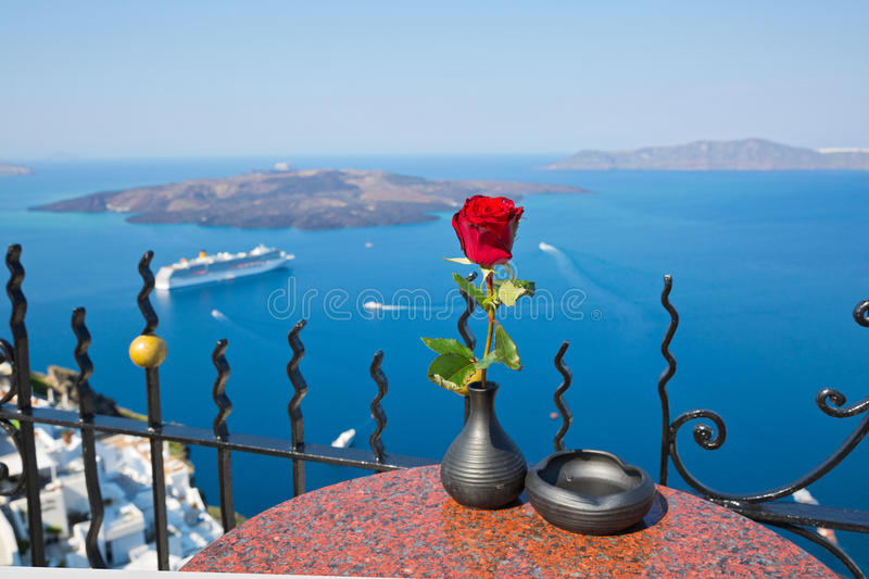 Santorini, Greece royalty free stock image