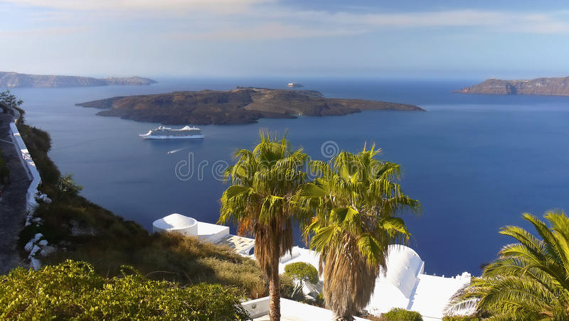 Santorini Greek Islands royalty free stock photo