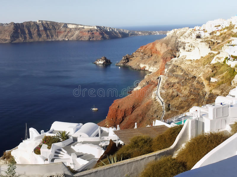Santorini Greek Islands royalty free stock images