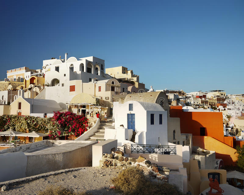 Santorini Greek Islands stock photos
