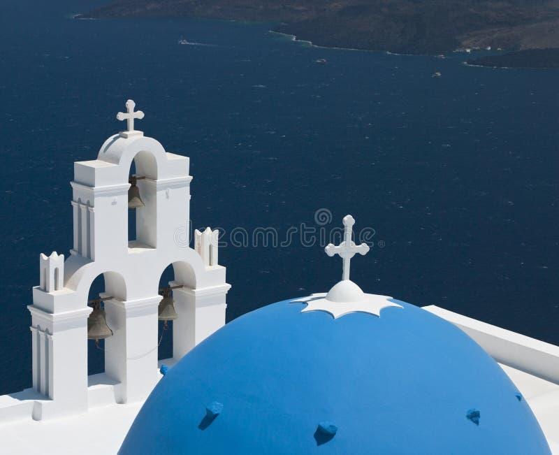Santorini - Griechenland stockbilder