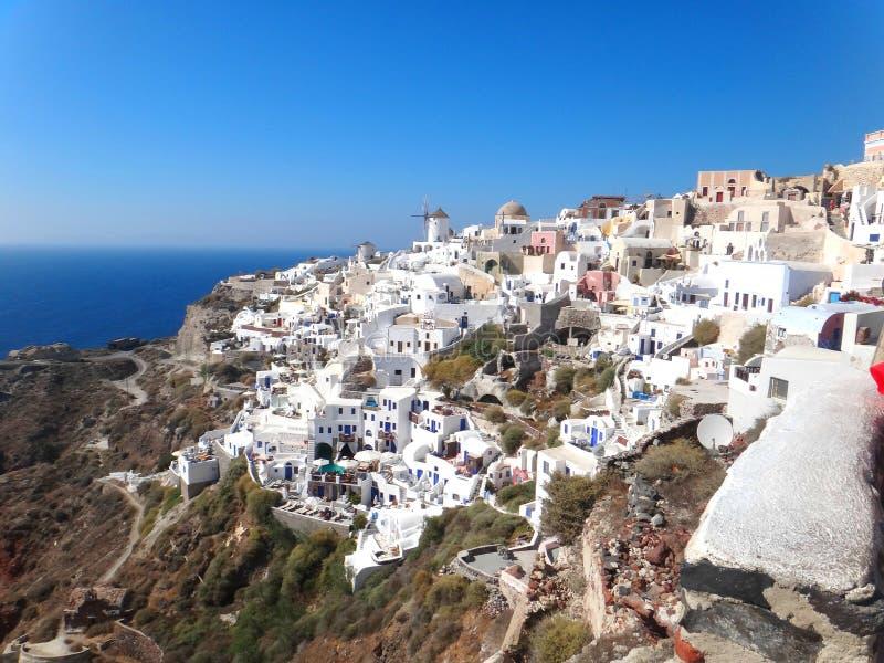 Santorini Griechenland stockbilder