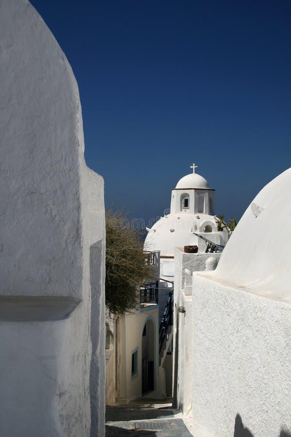 Santorini - Griechenland stockbild