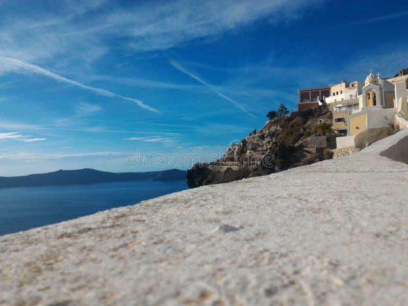 Santorini Griekenland stock afbeeldingen