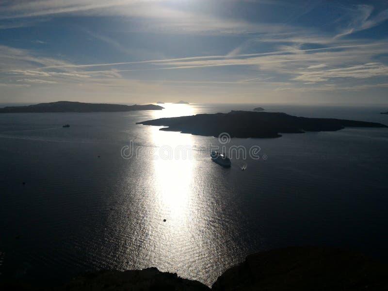 Santorini Griekenland royalty-vrije stock afbeeldingen