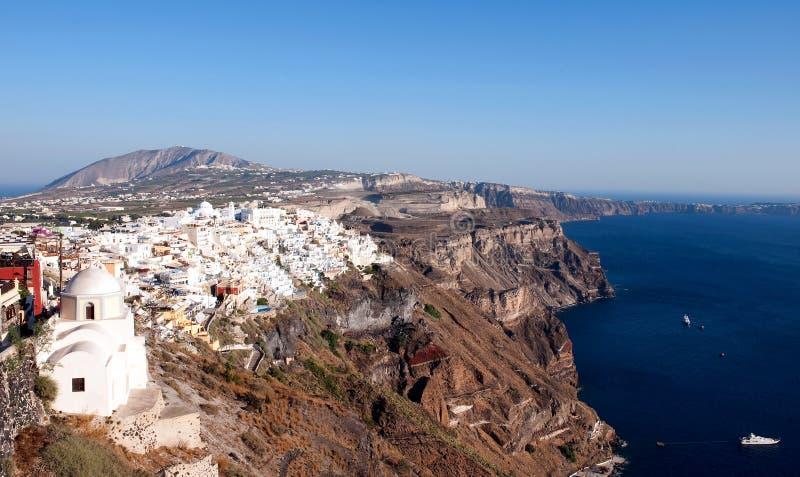 Santorini, Griekenland royalty-vrije stock fotografie