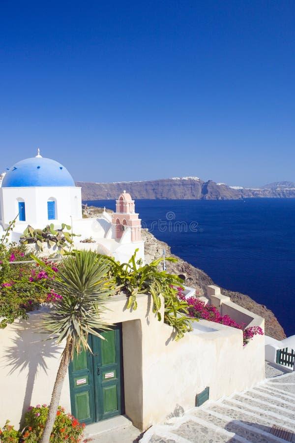 Santorini, Griekenland royalty-vrije stock afbeelding