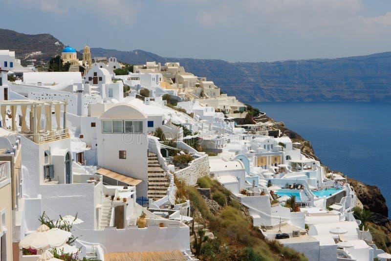 Santorini. Griekenland stock afbeeldingen