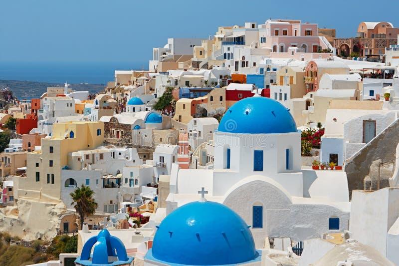 Santorini. Griekenland stock foto's