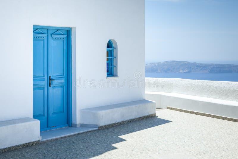 Santorini Griekenland stock fotografie