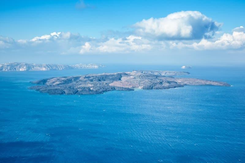 Santorini Griekenland stock foto