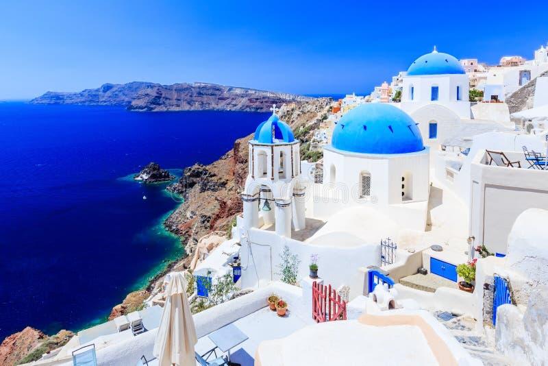 Santorini, Griekenland stock afbeelding