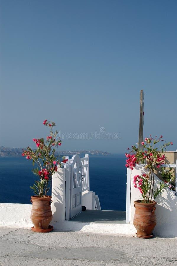 Santorini incrível imagens de stock royalty free