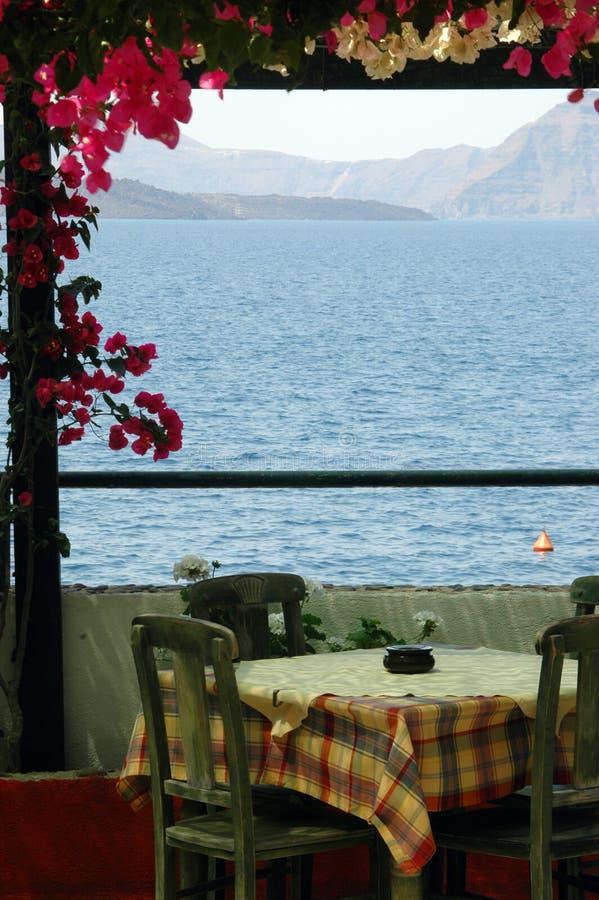 Santorini increíble imagenes de archivo