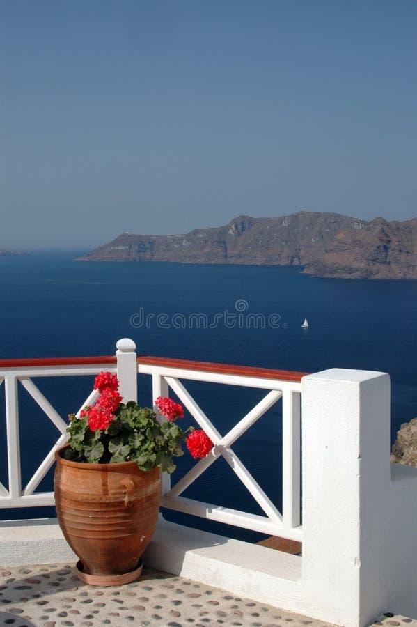 Santorini increíble imágenes de archivo libres de regalías