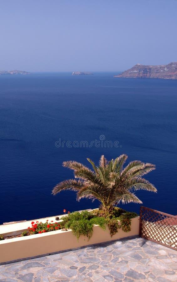 Santorini incredibile immagini stock libere da diritti