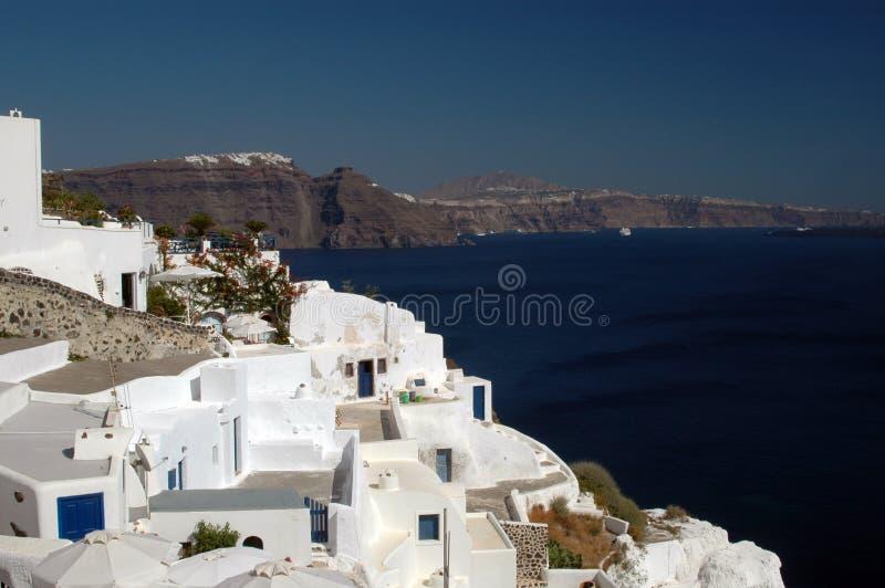 Santorini incredibile fotografia stock