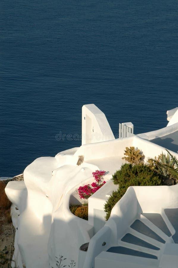 Santorini incroyable photos stock