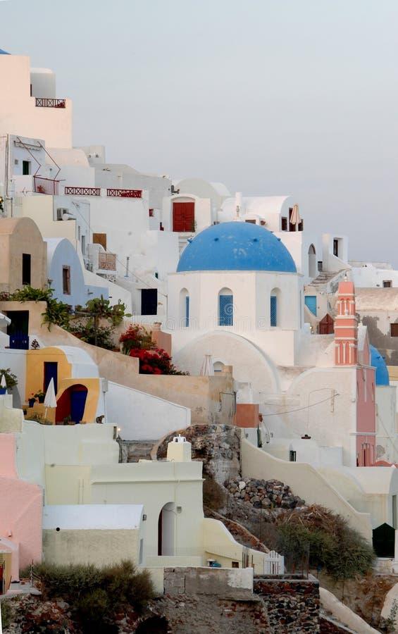 Santorini incroyable images stock