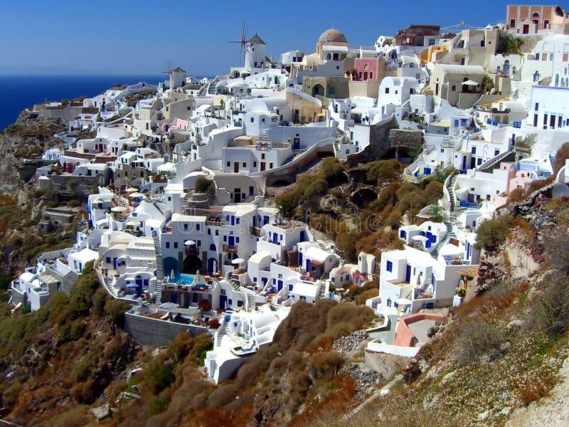 Santorini Insel lizenzfreie stockfotos