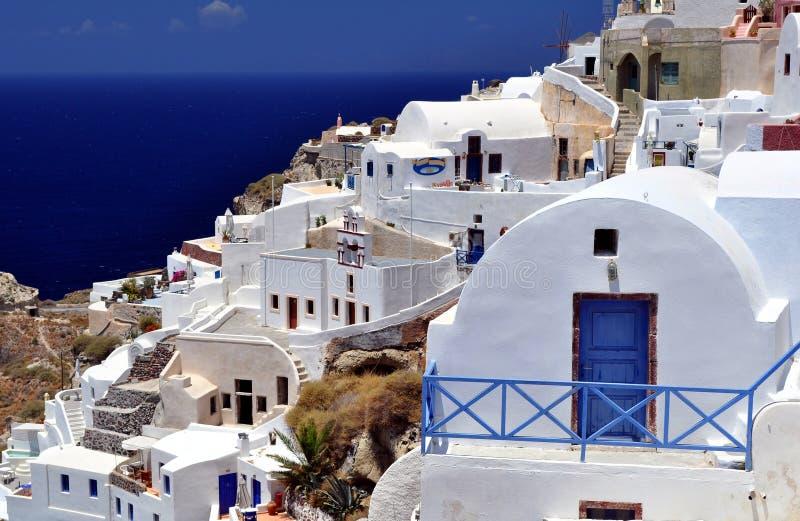 Santorini Insel. stockfotos