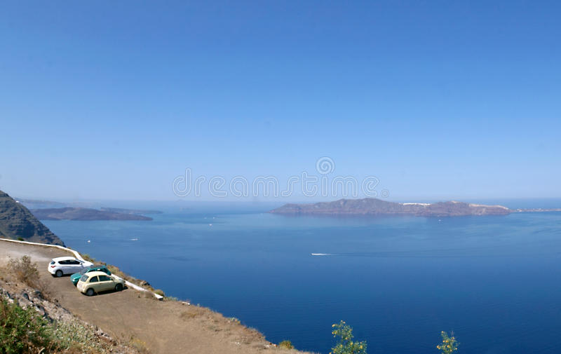 Santorini Insel, Griechenland stockfoto